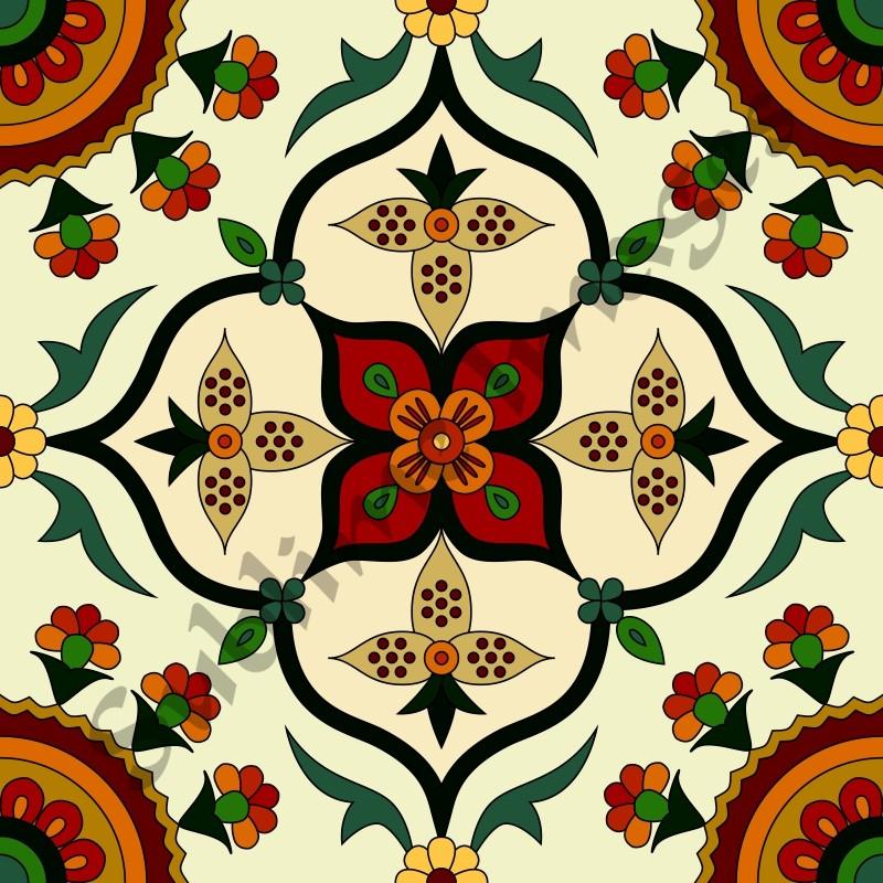 classic vintage tiles