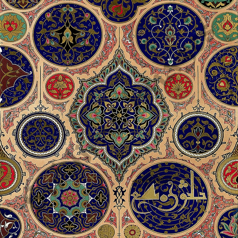 polychromatic ornament