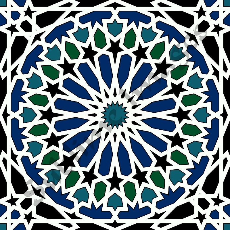 arabasque tile