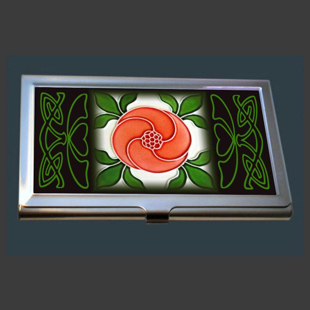 Art Nouveau Business Card Case