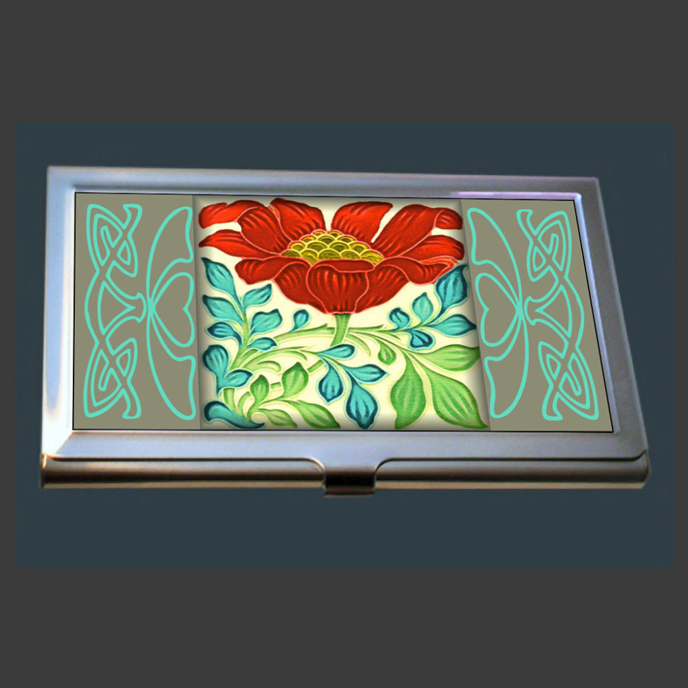 Art Nouveau Business Card Case