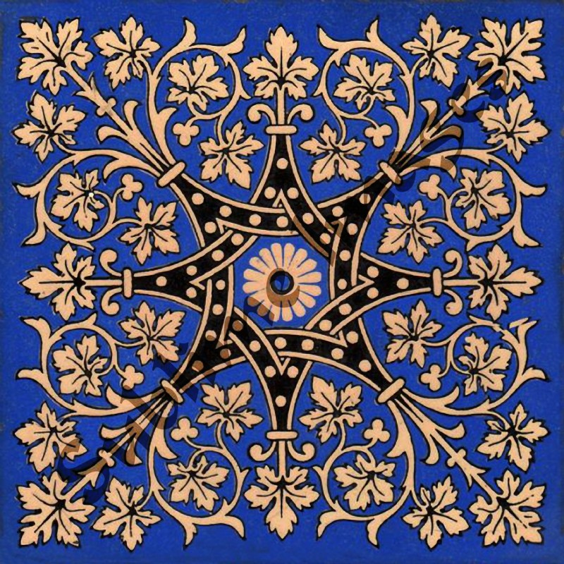 This Is A Category Of Augustus Pugin Tiles Was