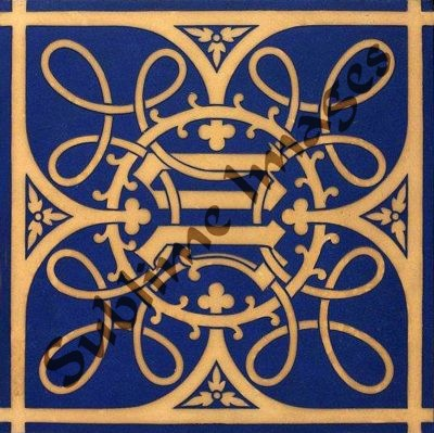 Gothic Revival tile