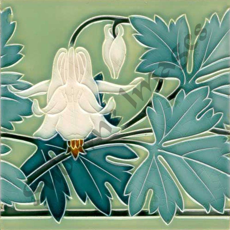 An028 Art Nouveau Kitchen Tiles Reproduction Ceramic Or Glass Sublime Images