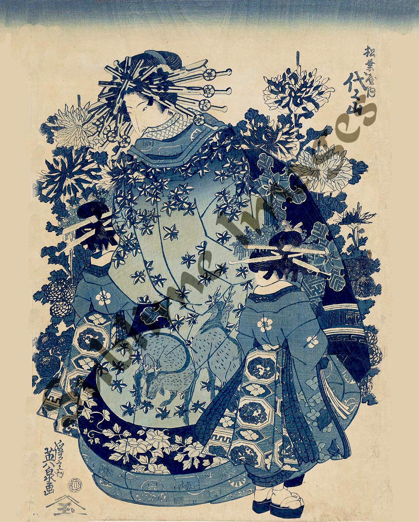 japanese prints - HD1400×1744